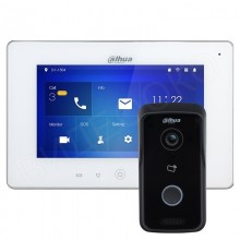 Комплект беспроводного Wi-Fi домофона Dahua DHI-VTH5221D