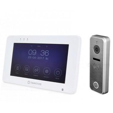 Монитор Tantos Rocky c поддержкой Wi-Fi и вызывная панель iPanel 2