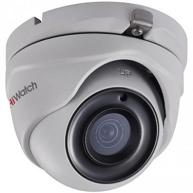Уличная HD-TVI видеокамера HiWatch DS-T300 разрешением 3МП